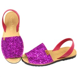 Абаркасы ZAPATOS · 364 glitter fuxia ·