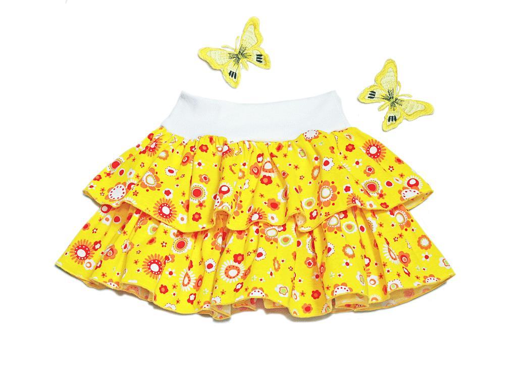 Сшить юбку ламбаду для девочки 548