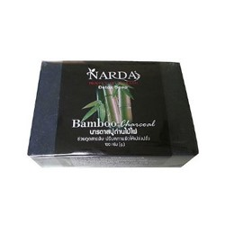 Детокс-мыло с бамбуковым углем от акне Narda 100 гр / Narda Bamboo Charcoal Soap Natural Acne Detox Deep Cleansing Treatment 100g