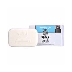 Отбеливающее мыло с молоком Beauty Buffet Whitening Q10 от Scentio 100 гр / Scentio Beauty Buffet Whitening Q10 Soap 100g