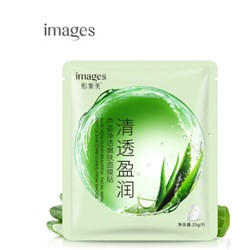 Маска для лица с экстрактом алоэ вера,  Images Aloe Vera clean mask ,25 гр.