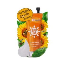 Солнцезащитный крем SPF 50 от Smooto 8 гр / Smooto SPF 50 Sunflower Sunscreen Cream 8 g