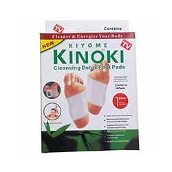 Детокс-пластыри для стоп Cleansing Detox от KINOKI 10 шт / KINOKI Cleansing Detox Food Pads 10 pcs 5 pair